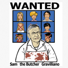 WANTED SAM THE BUTCHER GRAVILLIANO