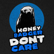 HONEY BADGER DON'T CARE (COLOR)